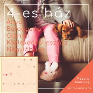 Védikus asztrológia - 4-es ház