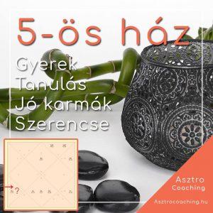 Védikus asztrológia - 5-ös ház