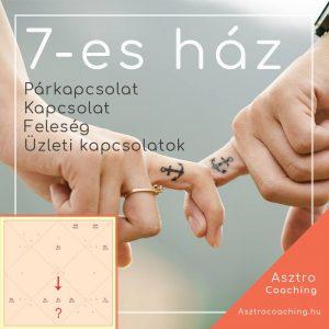 Védikus asztrológia - 7-es ház